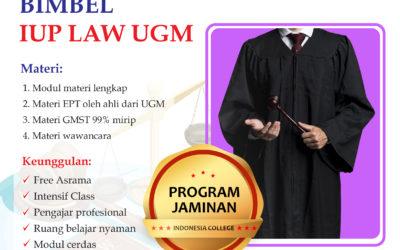 Bimbel IUP LAW UGM