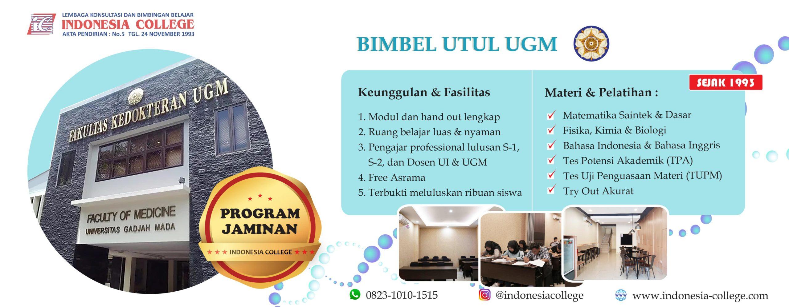 BIMBEL UTUL UGM