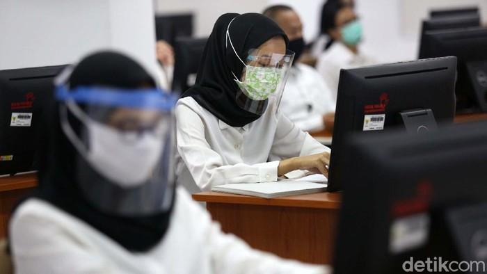 Seleksi CPNS 2021, Protokol Kesehatan Saat Tes